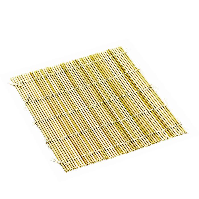 "Bamboo Sushi Rolling Mat 9.5"" - Round"