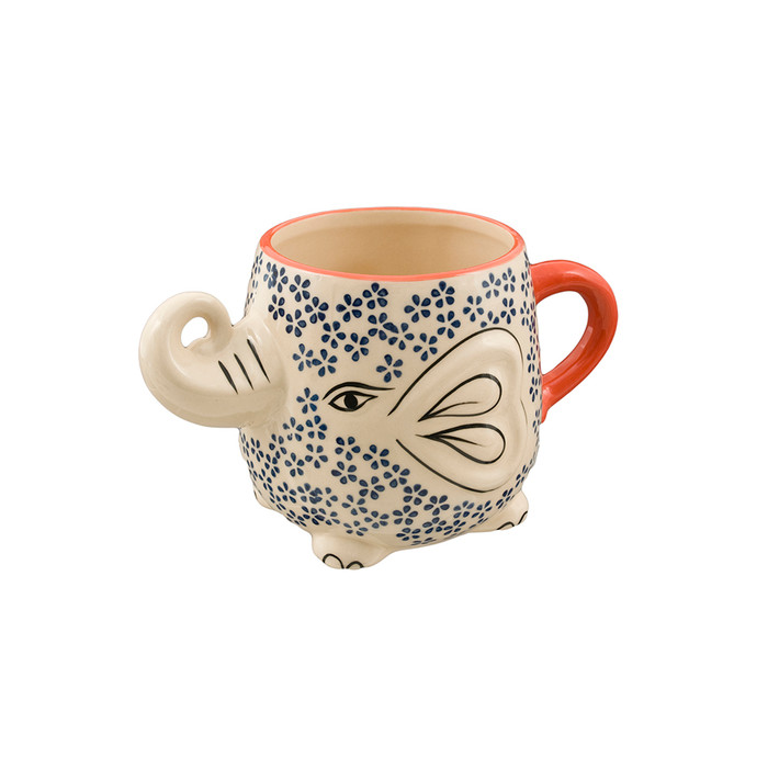 3D Pattern Elephant Mug - 22oz
