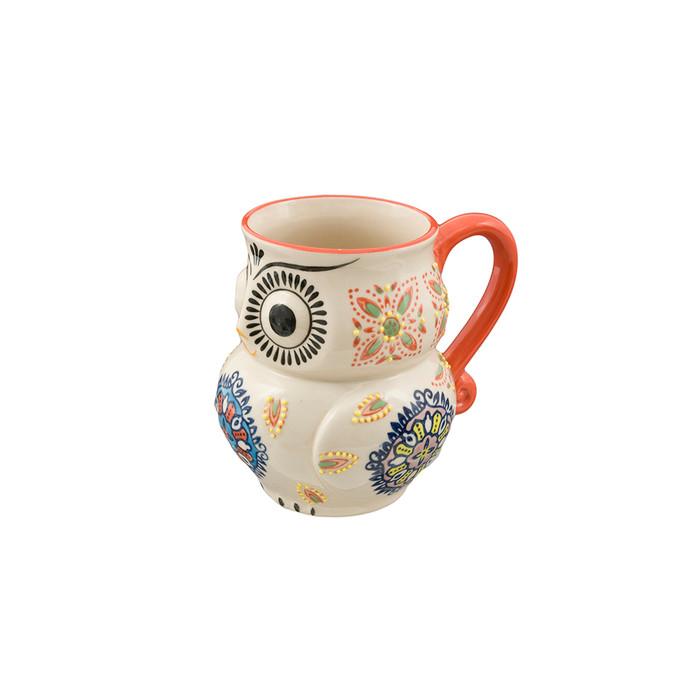 3D Pattern Frida Owl Mug 16oz - Heritage