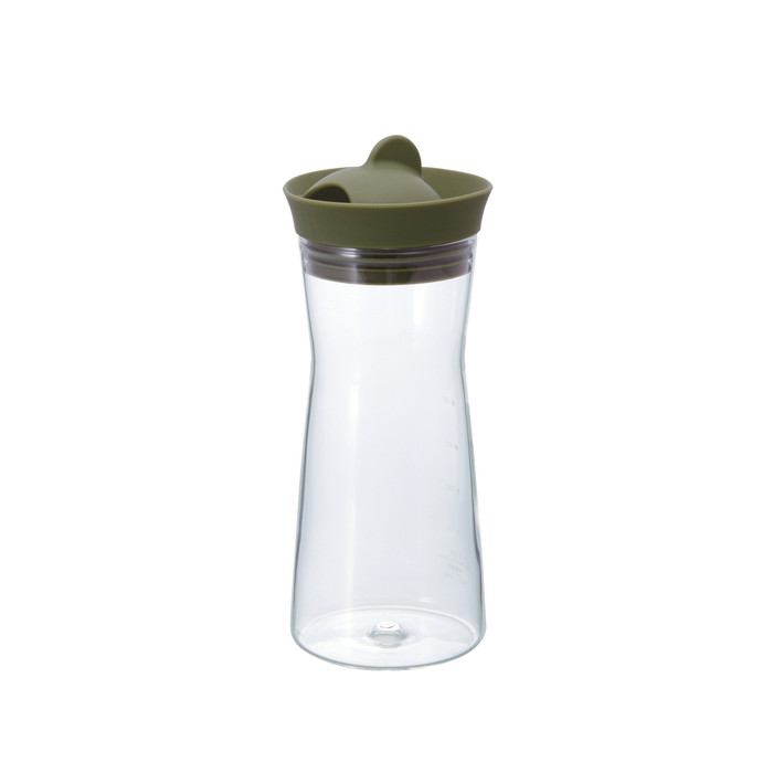 Hario Water Jug - Olive 700ml (24oz)