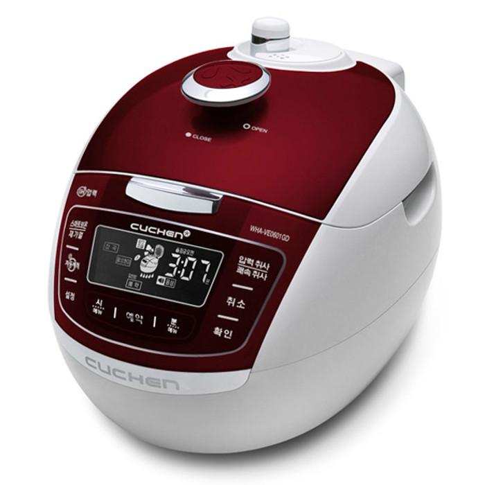 Cuchen IH Pressure Rice Cooker 6cup - Red
