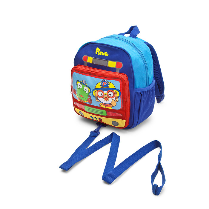 Pororo Kid's Backpack/Bag with Wristlet/Leash