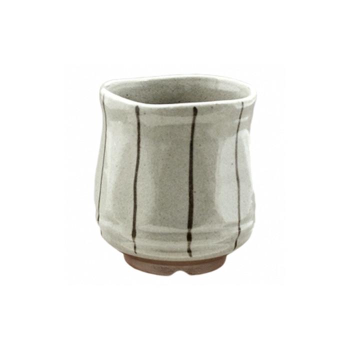 Sand Gray Thin Stripe Teacup