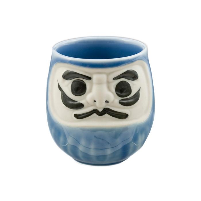Kabuki Teacup - Blue