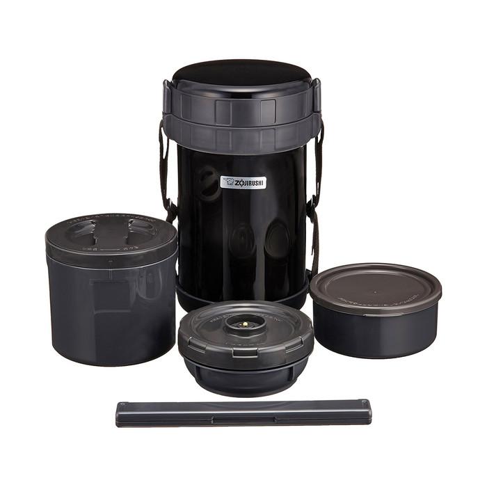 Zojirushi Stainless Steel Lunch Jar 49oz Black