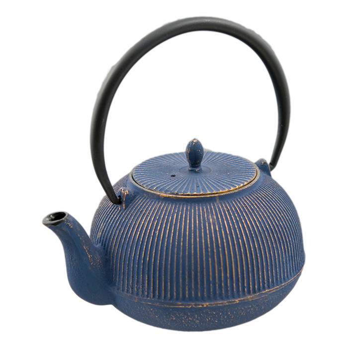 Tetsubin Iron Teapot Strip – Navy/Gold