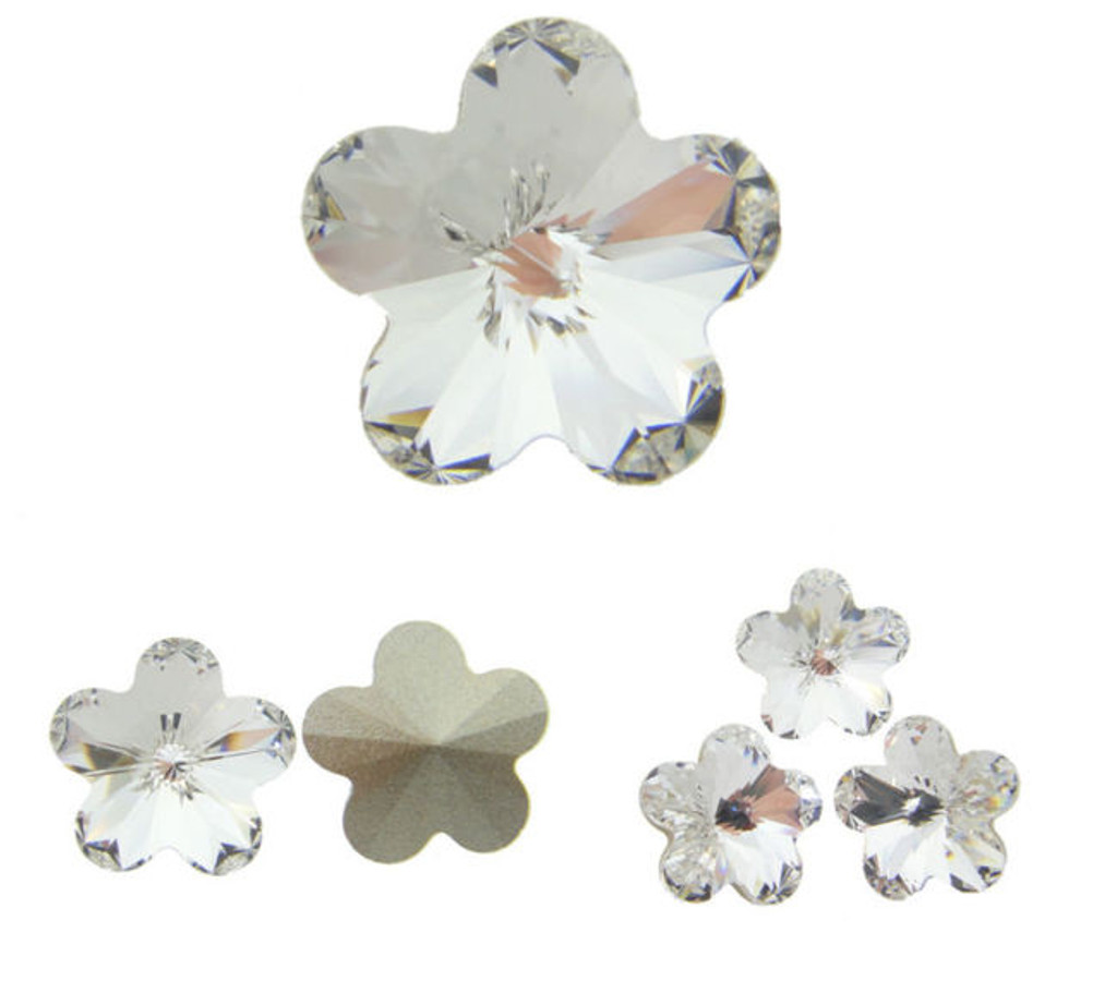 10mm Fancy | Flower | Swarovski Article 4744 | 12 Pieces