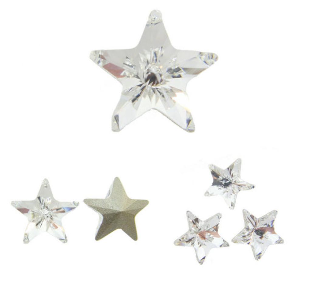 10mm Fancy | Star | Swarovski Article 4745 | 12 Pieces