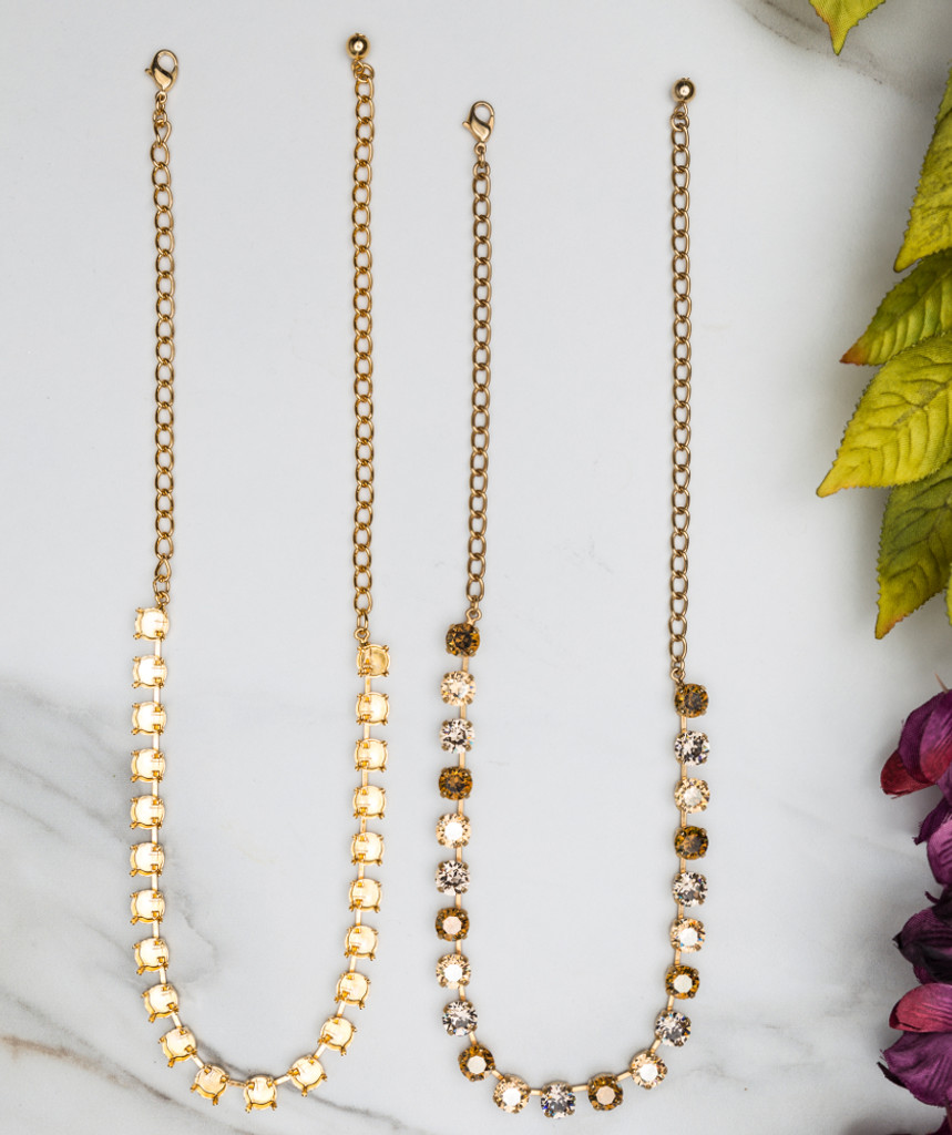 8.5mm | Classic 22 Setting Necklace | Three Pieces