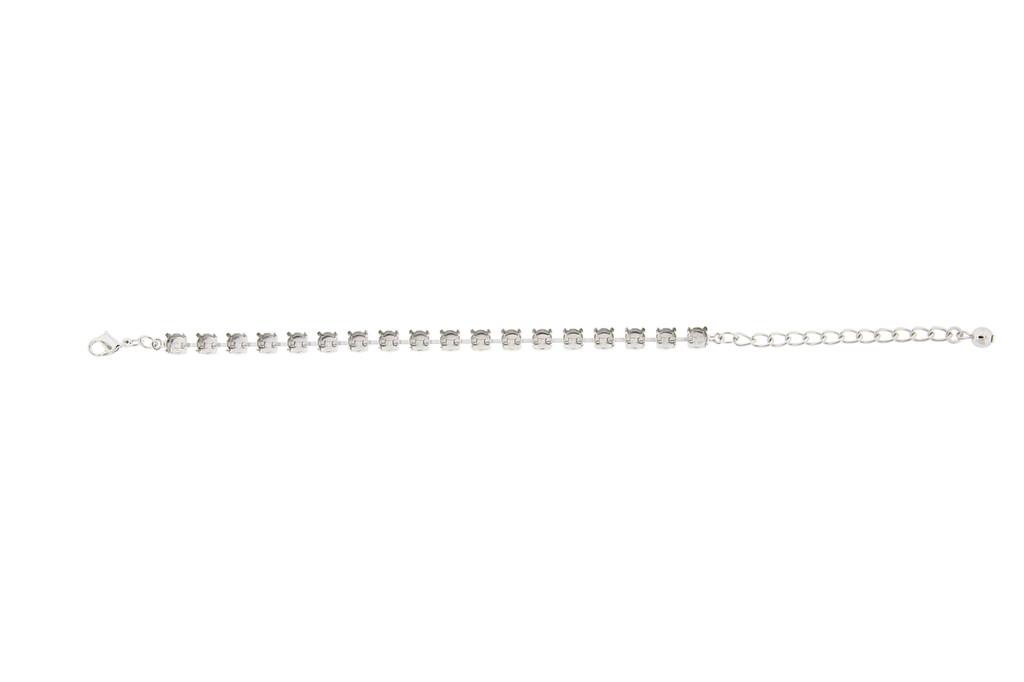 6mm   Classic Eighteen Setting Bracelets   Three Pieces