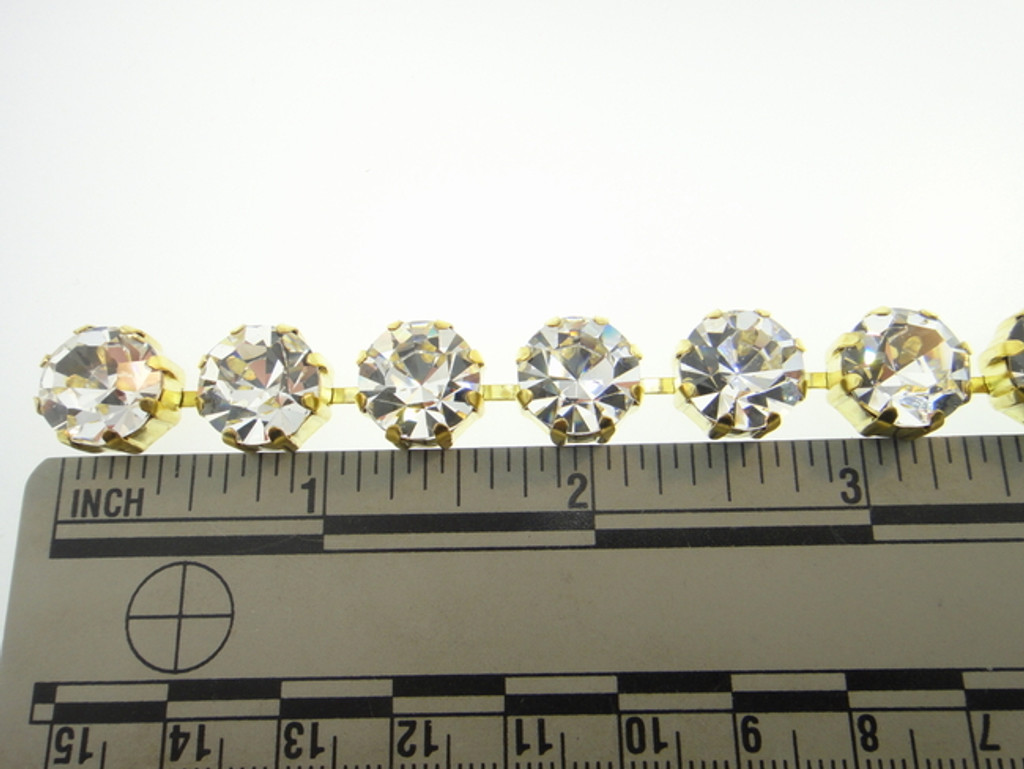 11mm Rhinestone Crystal Chain