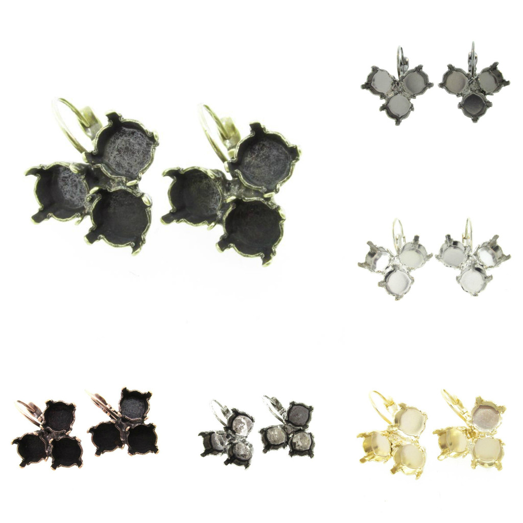 8.5mm Triangle Drop Earring