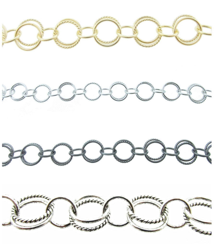 Fancy Circle Chain By The Foot