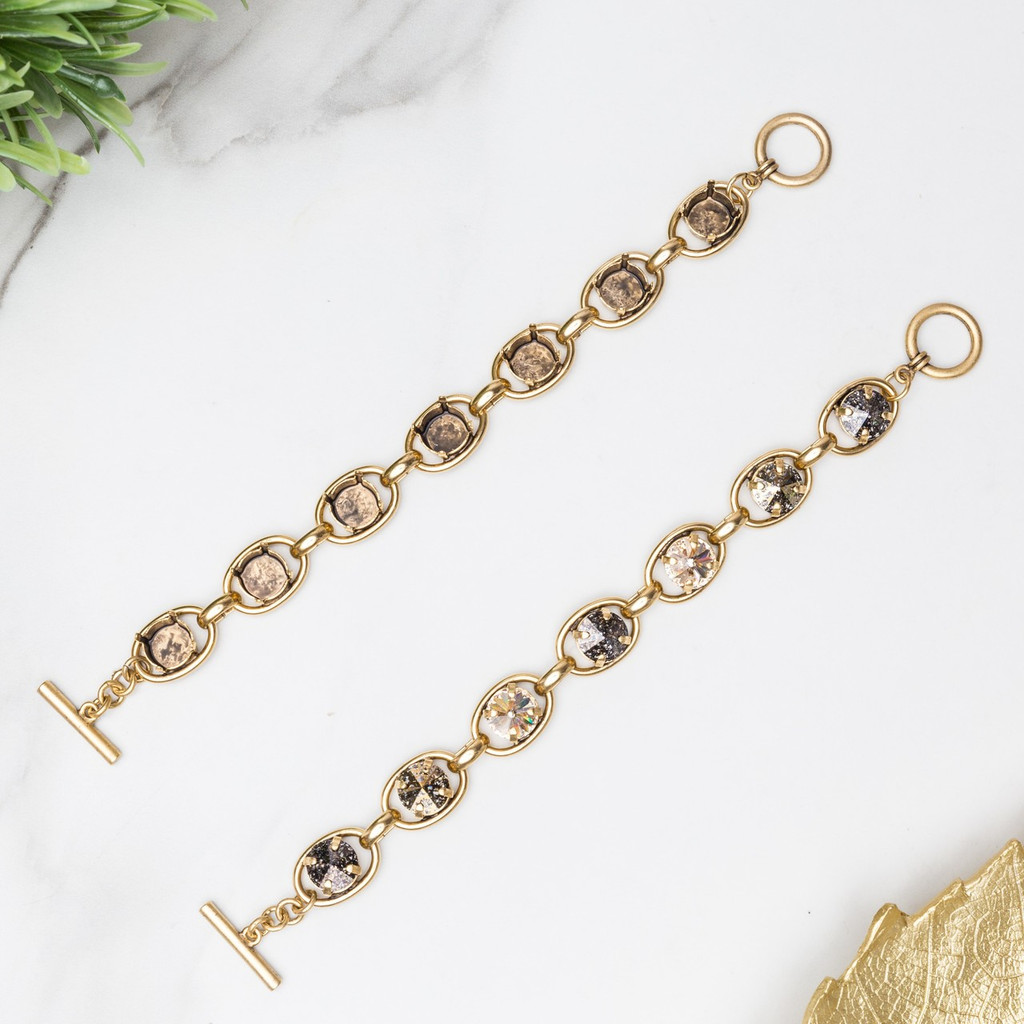 11mm | Seven Setting Statement Bracelet | One Piece