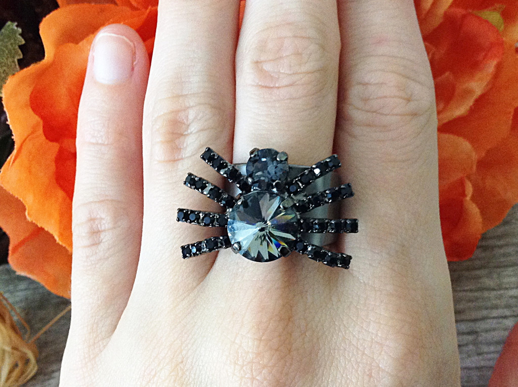 6mm & 11mm Low Profile | Two Setting Adjustable Spider Ring | One Piece