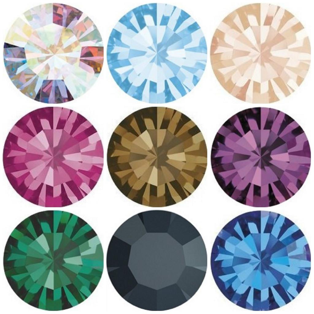 11mm   Chaton   Preciosa Crystals   12 Pieces