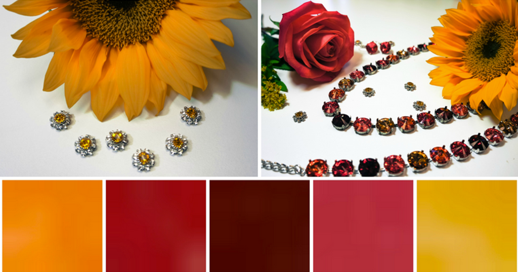 Sunflowers and Roses: Color Inspirations