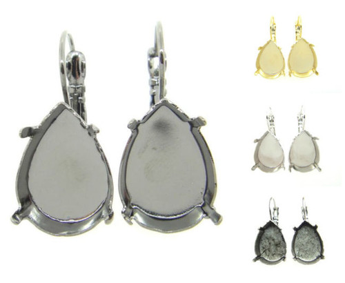 18mm x 13mm Pear Drop Earring
