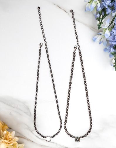 12mm Round | Pendant Necklace | Three Pieces
