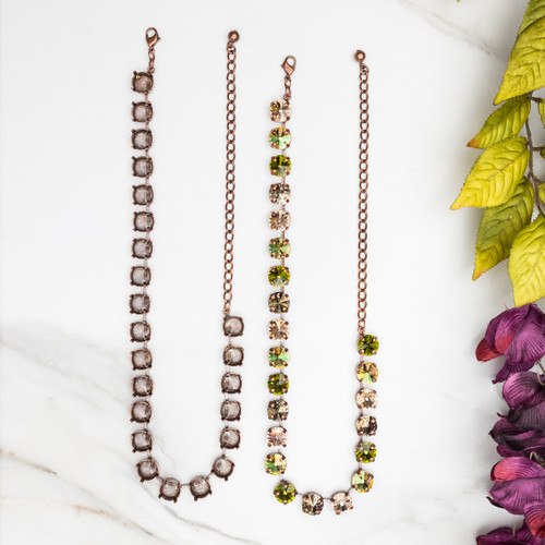 11mm | Classic 23 Setting Necklace | Three Pieces