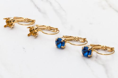 6mm | Classic Drop Earrings | Three Pairs