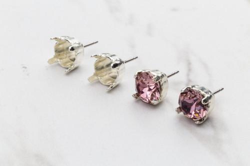 8.5mm Stud Earrings