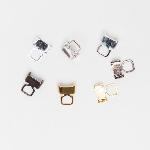 3mm - 4mm | Double Row Crimp End Connectors | 20 Pieces