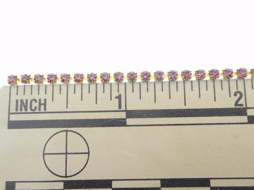 2mm Rhinestone Crystal Chain