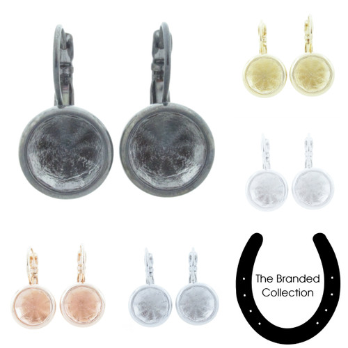 11mm Chaton Casted Drop Earring