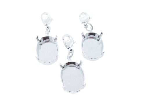 18mm x 13mm Oval   Necklace Enhancer   Three Pieces