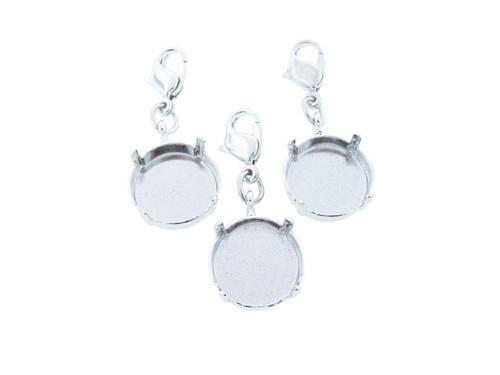14mm Round | Necklace Enhancer | Three Pieces