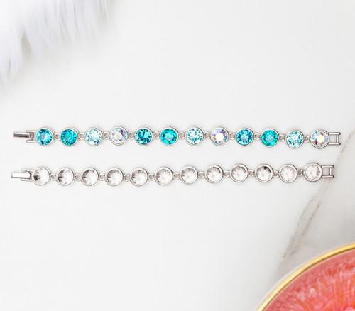 8.5mm | Casted Twelve Setting Bracelet | One Piece
