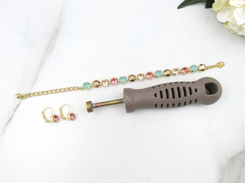 8.5mm | Tennis Bracelet & Earrings Starter Kit