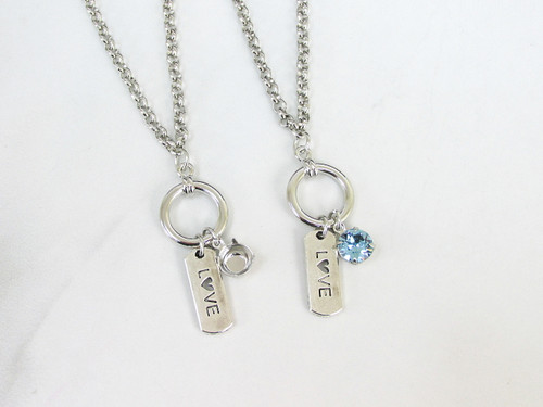 8.5mm | Everlasting Love Charm Necklace | One Piece
