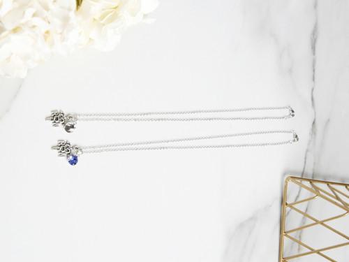 8.5mm | RN Nurse Charm Necklace | One Piece