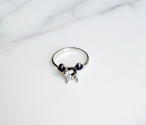 Small Mouse | Simple Band Adjustable Ring