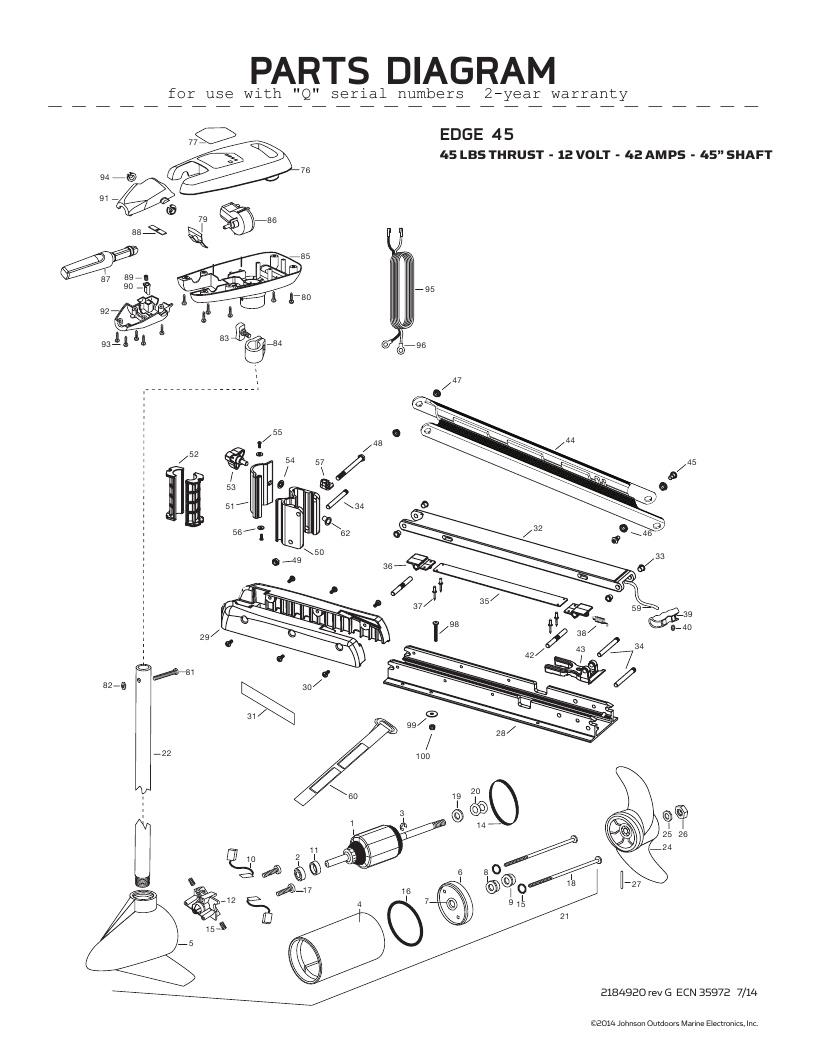 Minn KotaEdge 45 hand control Parts - 2016