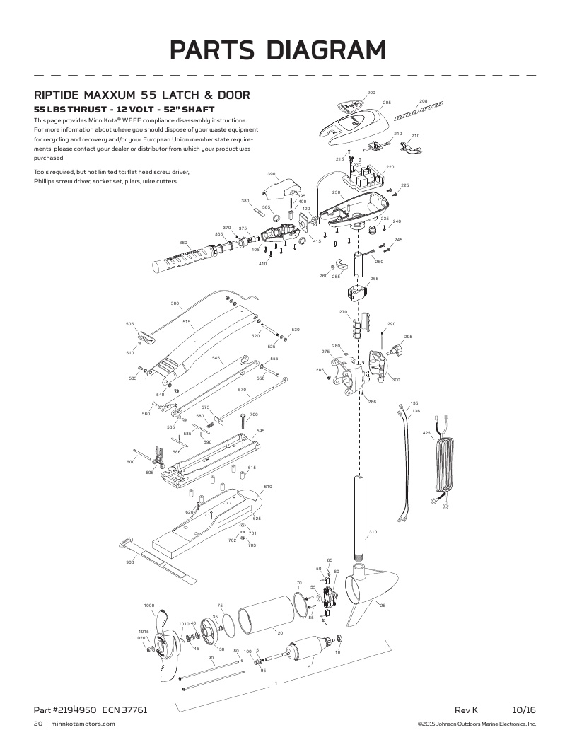 Minn Kota Trolling Motor Wiring Diagram Order Minn Kota Trolling Motor