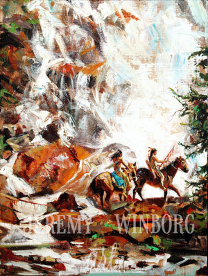 Hidden Falls Riders Original (SOLD)