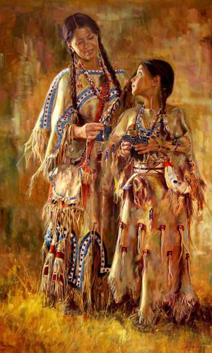 Shoshone Dolls Original (SOLD)