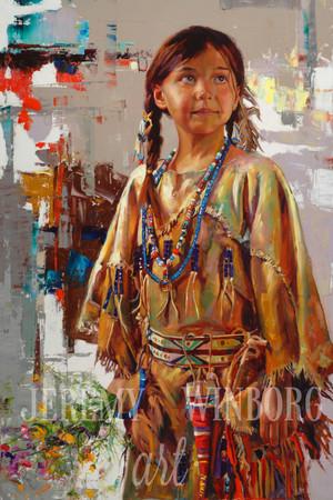 Native Flower Girl Original (SOLD)