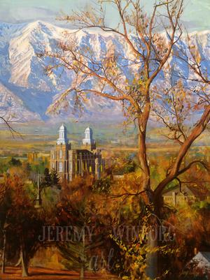Cache Valley Autumn Giclée Print Studio Sale