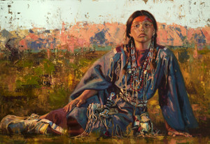 Guardian of the Red Mountains (SOLD)