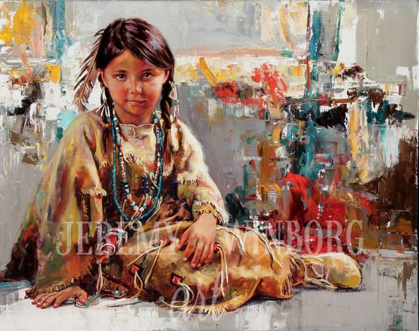 Native Beauty Giclée Print