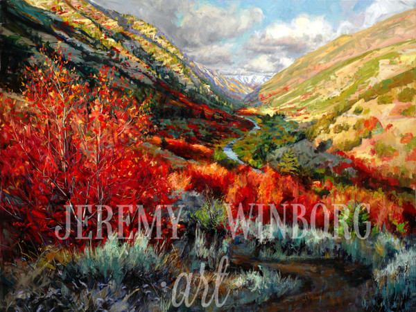 Riverside Trail Giclée Print