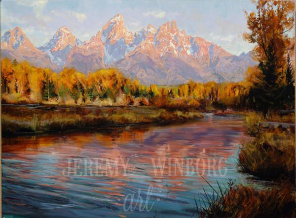 Grand Teton Autumn