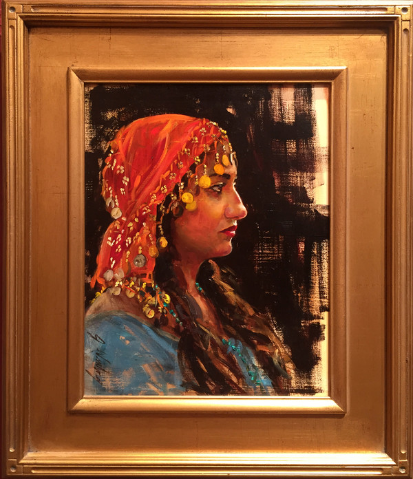 Gypsy Girl Original (SOLD)