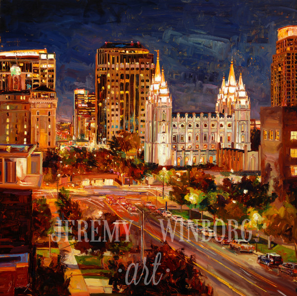 City Lights Original (SOLD)