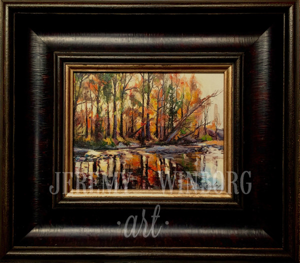 Cottonwood Creek Original Study (SOLD)
