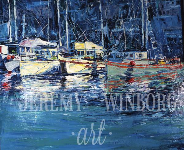 San Francisco Harbor Original